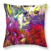 Splash Reborn Throw Pillow