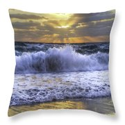 Splash Sunrise IIi Throw Pillow