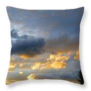 Splendid Cloudscape 1 Throw Pillow