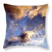 Splendid Cloudscape 3 Throw Pillow