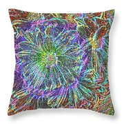 Splendid Florish Throw Pillow