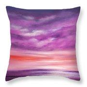 Splendid Purple Throw Pillow