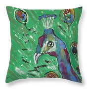 Splendor Is The Night Throw Pillow