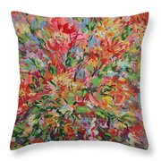 Splendor. Throw Pillow
