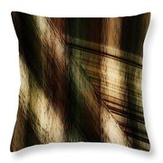Splinter And Fray Throw Pillow