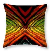 Split - Abstract Throw Pillow