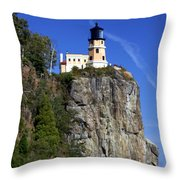 Split Rock 2 Throw Pillow by Marty Koch