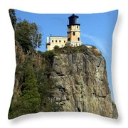 Split Rock 3 Throw Pillow
