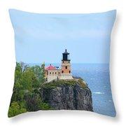 Split Rock Beacon Throw Pillow