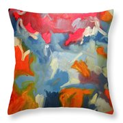 Split Second Throw Pillow