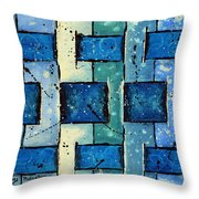 Split Weave Throw Pillow