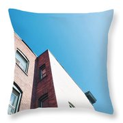 Spokane Brick Buildings 3 Throw Pillow