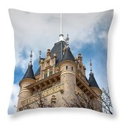 Spokane County Courthouse 3 Throw Pillow