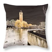Spokane Fantasy 2 Throw Pillow