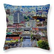 Spokane Washington 2 Throw Pillow