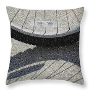 Spokes Mosaic Throw Pillow