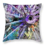 Spokin Throw Pillow by Ed Hall