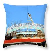 Sponge Capitol Throw Pillow