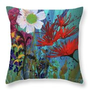 Spontaneity Throw Pillow