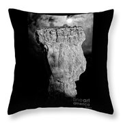Spooky Bryce Canyon  Throw Pillow
