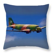 Spooky Douglas Ac-47  Throw Pillow