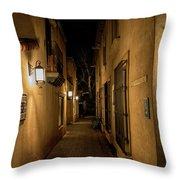 Spooky Hallway Throw Pillow