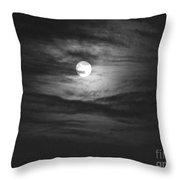 Spooky Moon 2 Throw Pillow