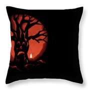 Spooky Throw Pillow