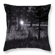 Spooky Spirit Throw Pillow