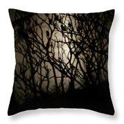 Spooky Sumac Throw Pillow