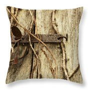 Spoon Security Throw Pillow