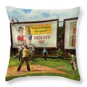 Sport - Baseball - America's Past Time 1943 Throw Pillow