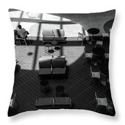 Spotlight Throw Pillow by Eric Lake