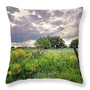 Spotlight On Spring Throw Pillow