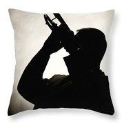 Spotlight Performer Throw Pillow
