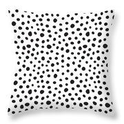 Spots Throw Pillow by Rachel Follett