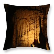Spotted Growth - Cave Throw Pillow