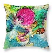 Spout Throw Pillow