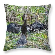 Spreading Out Edition 2 Throw Pillow