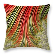 Spreading Roots Throw Pillow