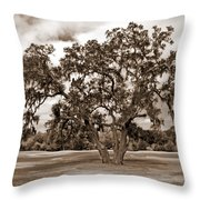 Spreading Tree Throw Pillow