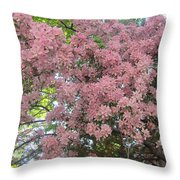 Spring 10 Throw Pillow