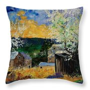 Spring 45 Throw Pillow