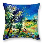 Spring 56 Throw Pillow
