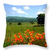 Spring At Gainey Ranch Throw Pillow