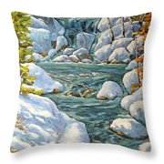 Spring At Last By Richard Pranke Throw Pillow