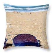 Spring At The Beach Throw Pillow