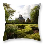Spring At The Governor's Palace Throw Pillow