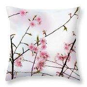 Spring Awakening Throw Pillow by Eena Bo