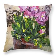 Spring Bliss Throw Pillow